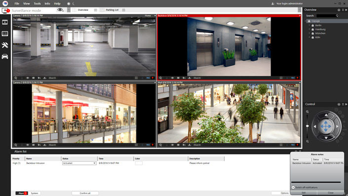 Videosoftware Videoüberwachung