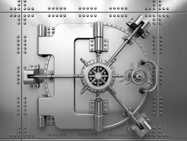 51246380 - bank vault door